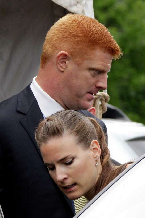 Mike McQueary, on leave at Penn State, testified he saw Jerry Sandusky and a boy in a campus shower in 2001. Photo: Gene J. Puskar, Associated Press