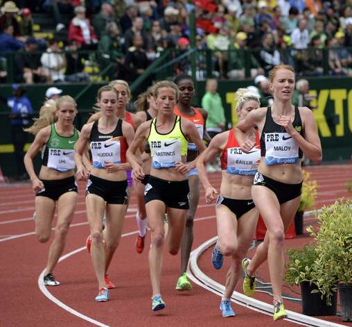 Liz Maloy at the Prefontaine Classic. (courtesy trackandfieldphoto.com)