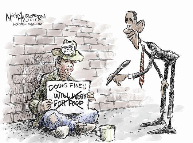 Today's editorial cartoon is by Nick Anderson of the Houston Chronicle. Photo: Nick Anderson