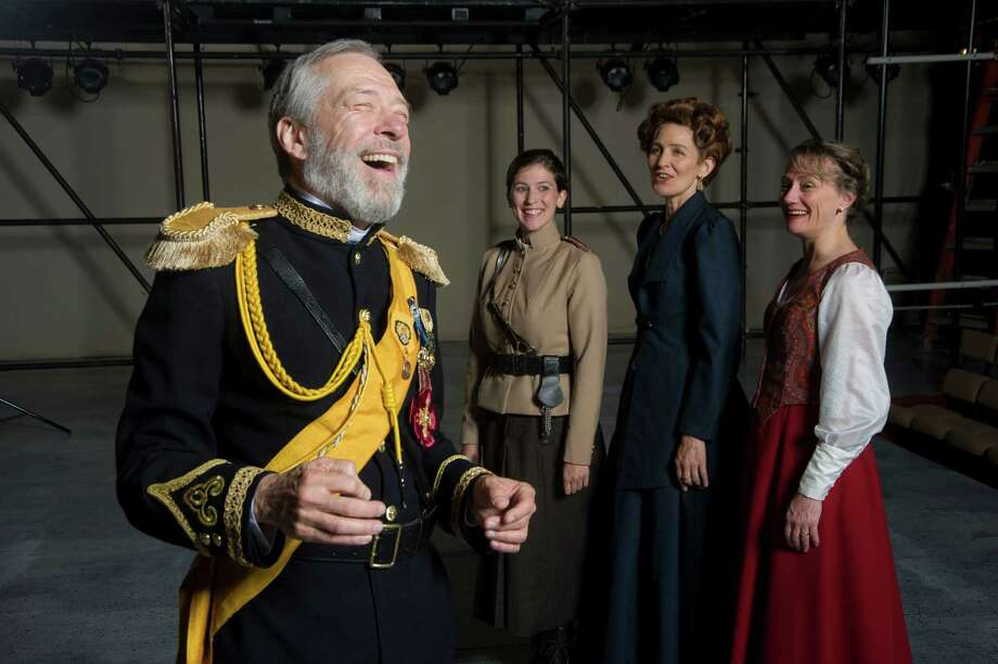Kevin Sprague Photos Dennis Krausnick, seen with other members of the cast of the upcoming Shakespeare & Company production of ?King Lear,? calls the role of the mad king one of the most rewarding in the Shakespearean canon.
