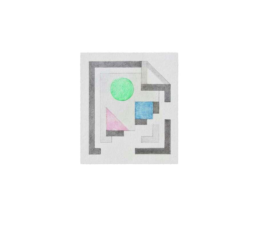 "Patrick Mohundro's ""Broken Image Icon,"" 2012 (Courtesy the artist)"