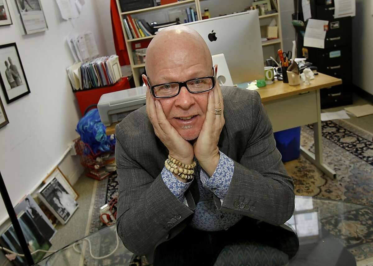 Wayne Hazzard is a much admired executive director of Dancers Group. Wayne Hazzard runs Dancers Group, now in its 30th year. He works in his Mission Street offices in San Francisco, Calif.