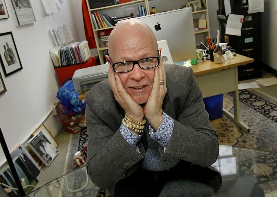 Wayne Hazzard is a much admired executive director of Dancers Group. Wayne Hazzard runs Dancers Group, now in its 30th year.  He works in his Mission Street offices in San Francisco, Calif. Photo: Brant Ward, The Chronicle