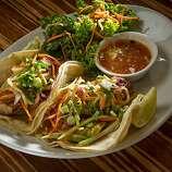 The Fish Tacos at Lyfe restaurant in Palo Alto.