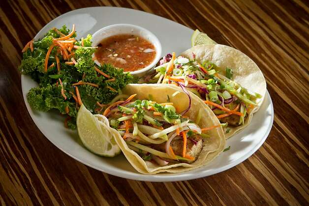 The Fish Tacos at Lyfe restaurant in Palo Alto, Calif., is seen on Saturday, June 9th, 2012. Photo: John Storey, Special To The Chronicle