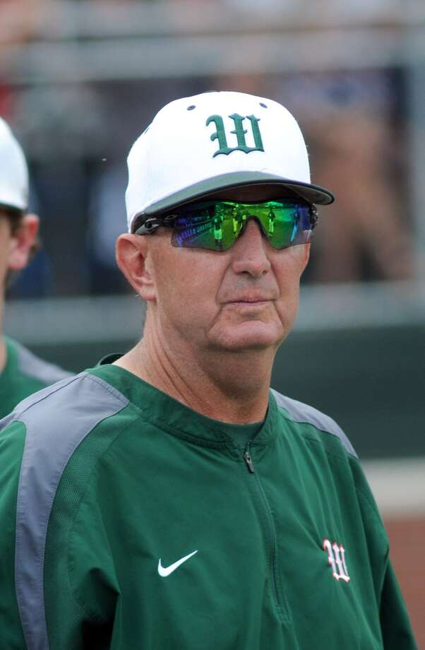 The Woodlands Head Baseball Coach Ron Eastman. Photo: Jerry Baker