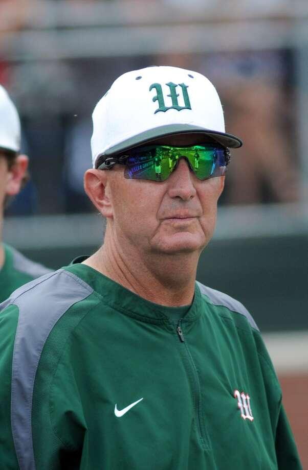 The Woodlands Head Baseball Coach Ron Eastman Photo: Jerry Baker