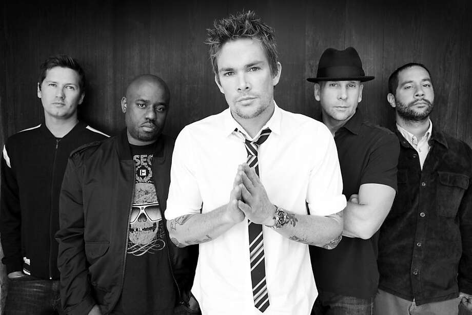 Sugar Ray with Mark McGrath (center). Photo: Pulse Music