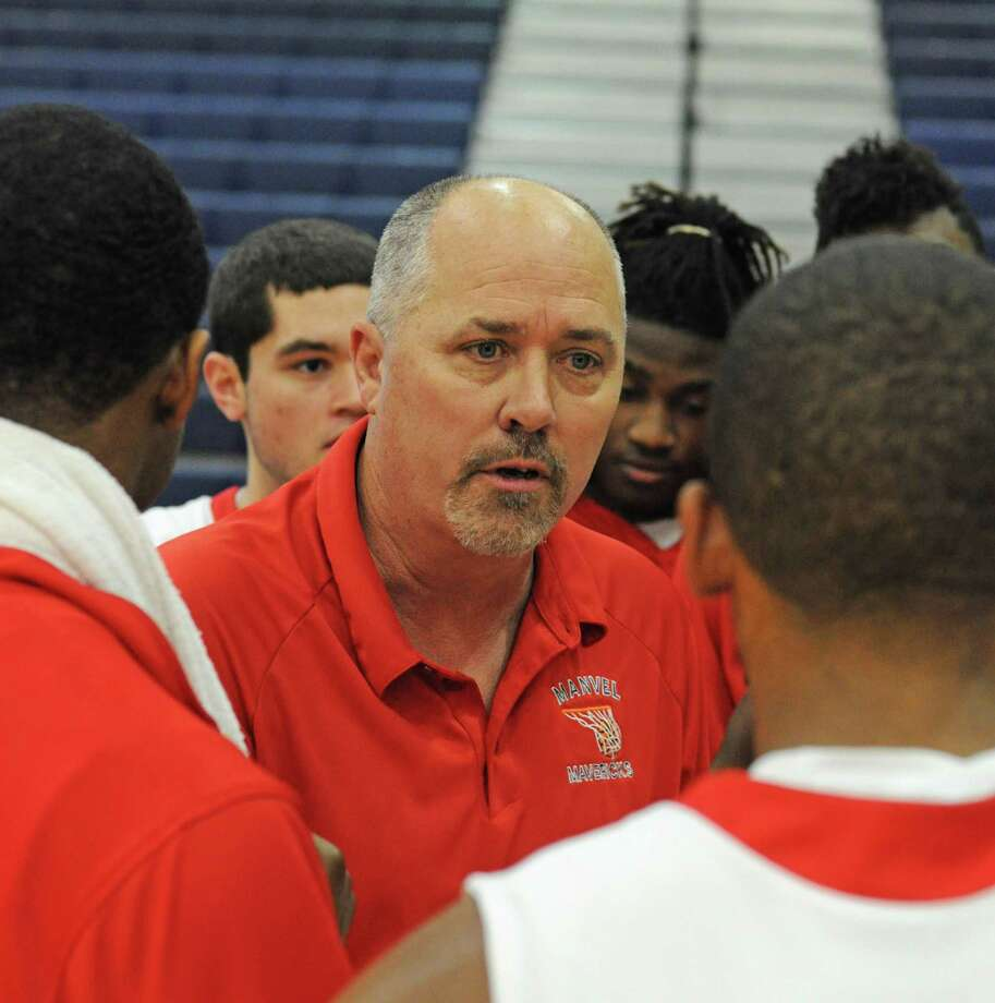 Manvel boys basketball coach Greg Devers Photo: L. Scott Hainline / For The Chronicle