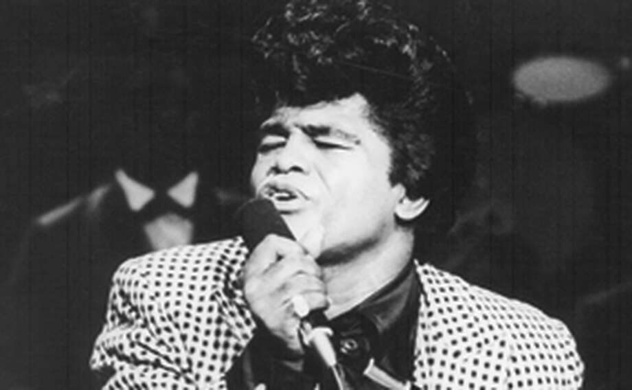 "James Brown in the concert film ""The T.A.M.I. Show."" Photo: AIP 1964 / ONLINE_YES"