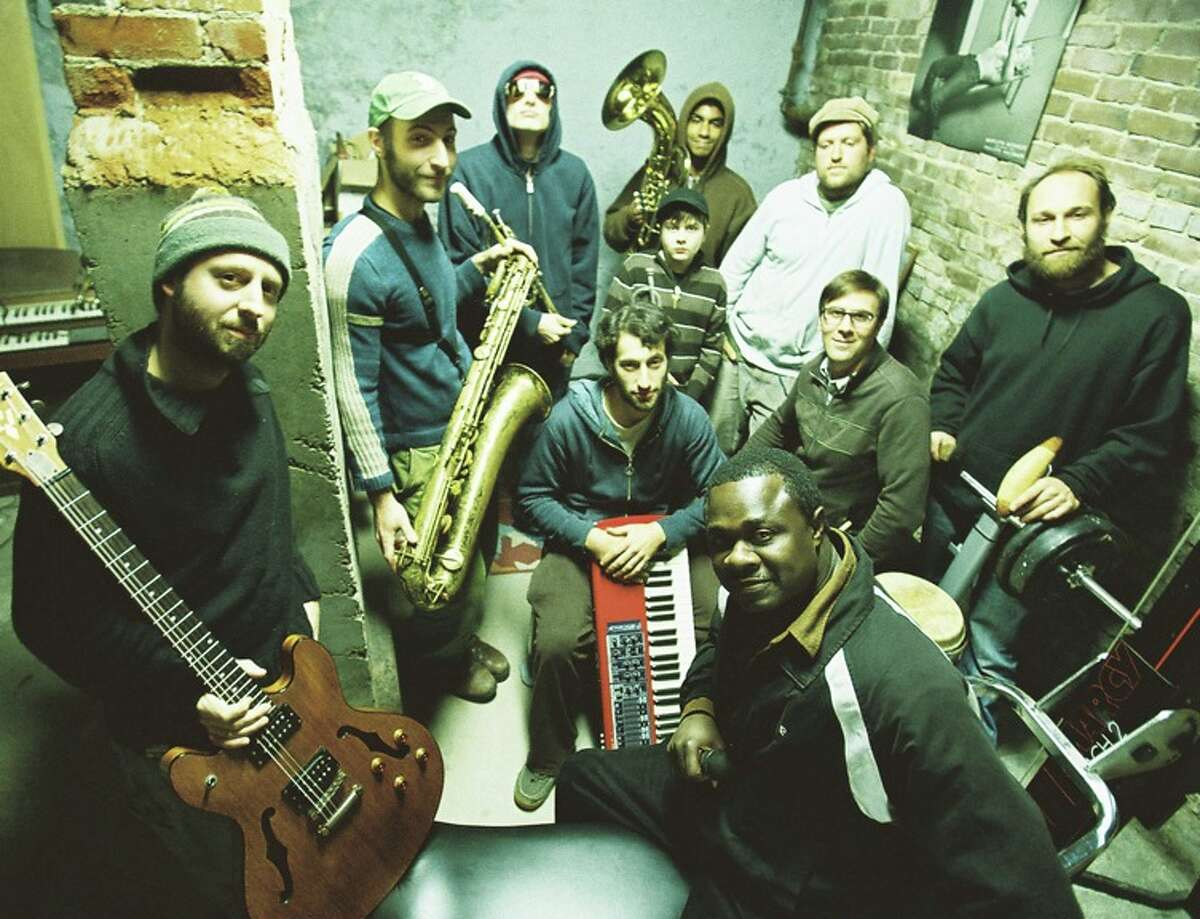 Shokazoba of Northampton, Mass., will play Saturday afternoon at Juneteenth in Troy's Freedom Square. (Band photo)