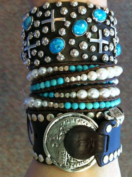 The jewelry collection from Uno de 50 will be featured at J. Silver in Rice Village. Photo: J. Silver