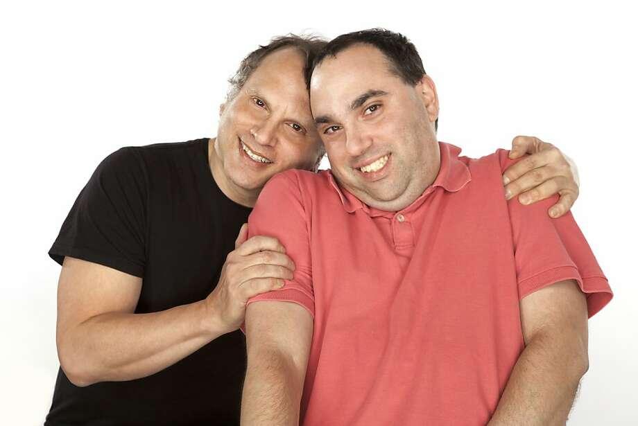 Buzz Bissinger (left) and his son Zach. Photo: Dominic Savini