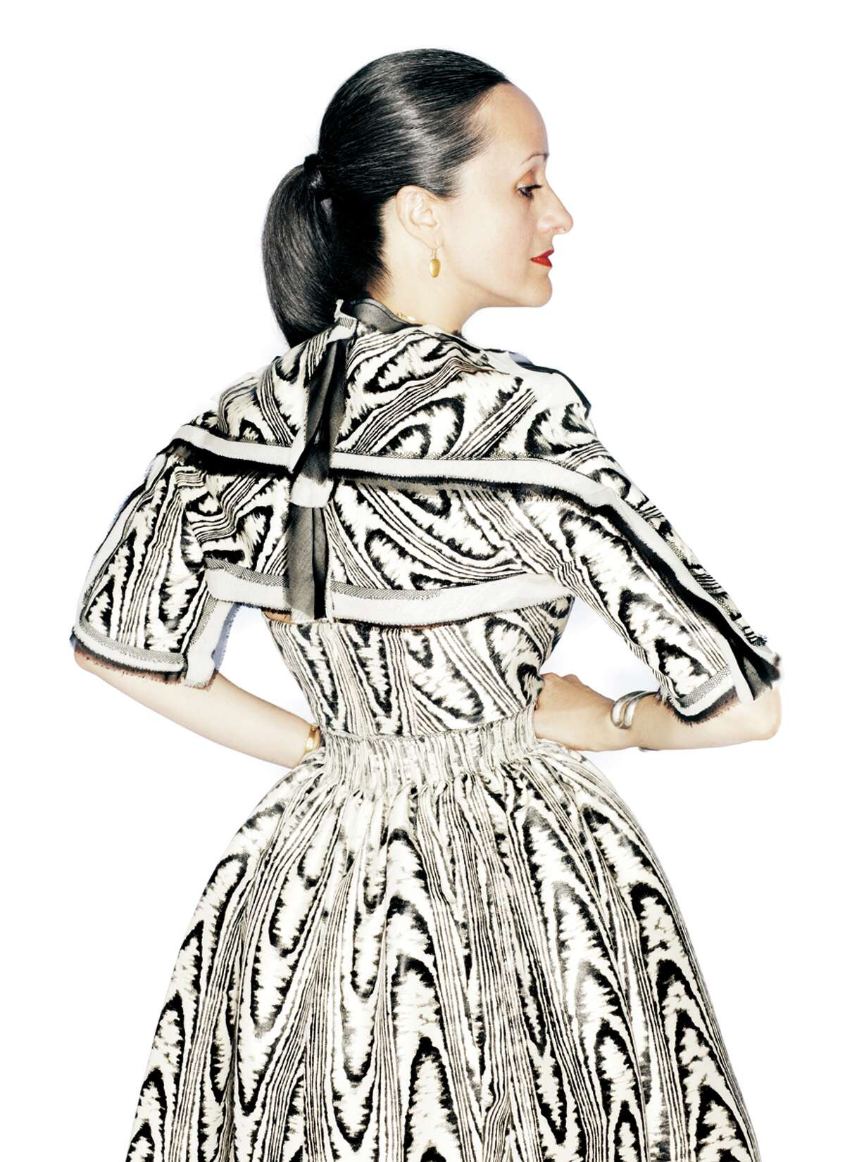 fashion: Designer Isabel Toledo. Credit: Randall Bachner