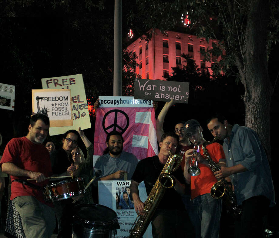 Free Radicals songs reference injustices around the world, but the songs are festive-sounding. Photo: Adrian / Breathlessintexas