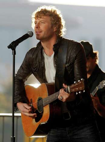 March 6 -- Dierks Bentley Photo: Mark Humphrey / AP