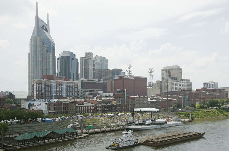 "23. Nashville: Rent for a furnished, one-bedroom apartment (900 square feet) in an ""expensive area"" here goes for $1,416.  Photo: Rusty Russell, Getty Images / 2004 Getty Images"