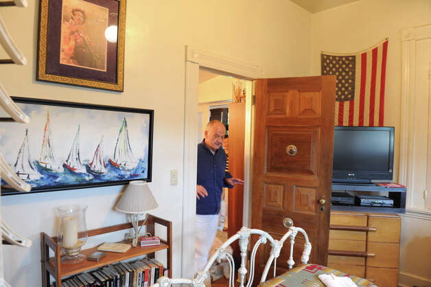 For the past 25 years, Jerry McWilliams has had an apartment inside the 16,000 square foot mansion on Hackett Circle in Stamford, Conn., June 13, 2012. Photo: Keelin Daly / Stamford Advocate