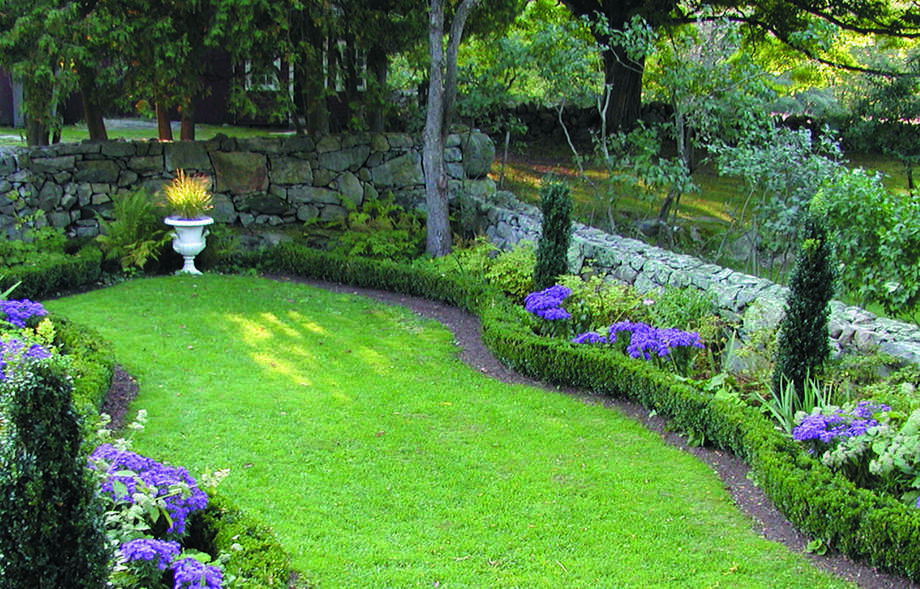 Historic Gardens Day will take place on Sunday, June 24, throughout Connecticut. Above is a garden at the Weir Farm National Historic Site in Wilton. Photo: Contributed Photo