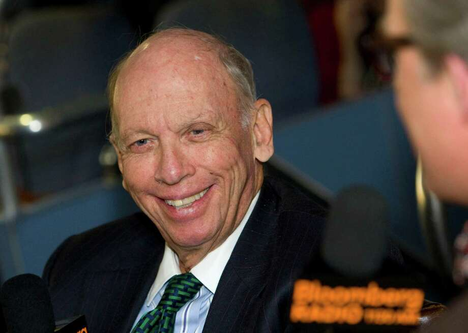 "Byron Wien, vice chairman of Blackstone Group LP's advisory group, speaks during an interview on the ""Bloomberg Surveillance"" radio show in New York, U.S., on Wednesday, Oct. 13, 2010. Hintz discussed the future of Wall Street, the hedge-fund industry, financial regulation and investment strategy. Photographer: Jin Lee/Bloomberg *** Local Caption *** Byron Wien Photo: Jin Lee, Bloomberg / 2010 Bloomberg Finance LP"