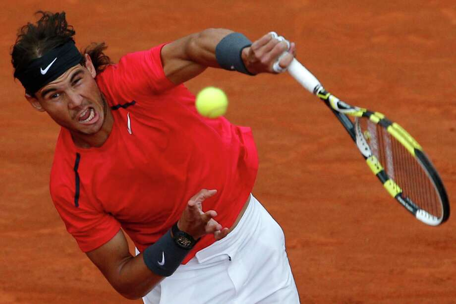 Rafael Nadal's French Open championship this week is the Spaniard's 11th major title. Photo: Christophe Ena / AP