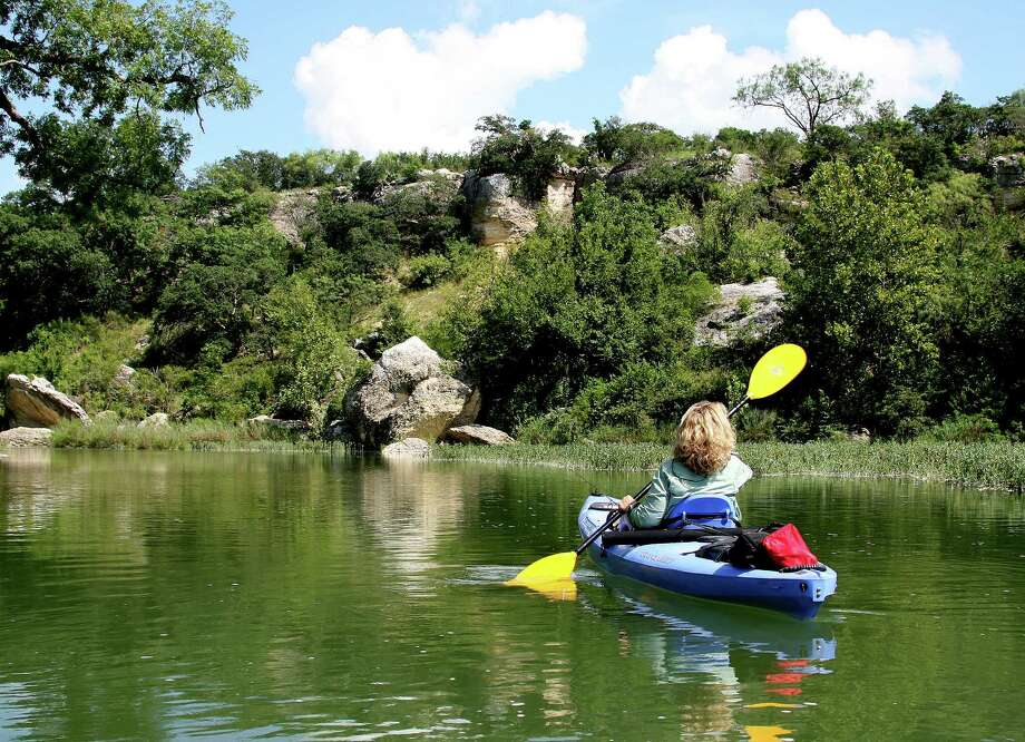 Water levels - and fishing - in many Texas rivers popular with paddling anglers are improved over the drought-plagued summer of 2011, but flows in most waterways remain well below average. Photo: Shannon Tompkins