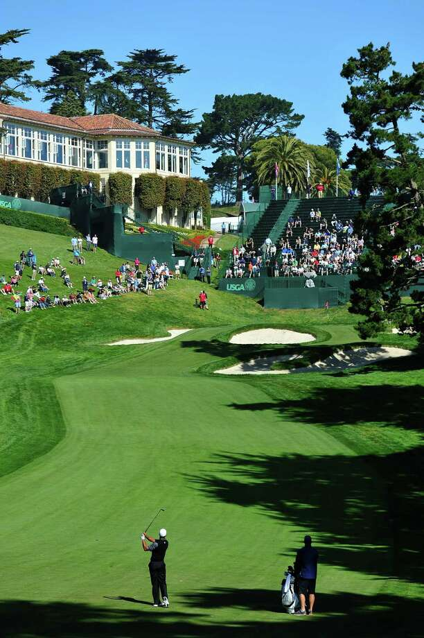 Three-time U.S. Open champ Tiger Woods will try to conquer one of the event's famed courses - the Olympic Club. Photo: Stuart Franklin / 2012 Getty Images