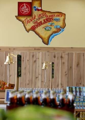 The first Trader Joe's in Houston opens Friday, June 15, 2012, at the Woodlands Crossing Shopping Center in The Woodlands. (Thomas B. Shea / For the Chronicle)