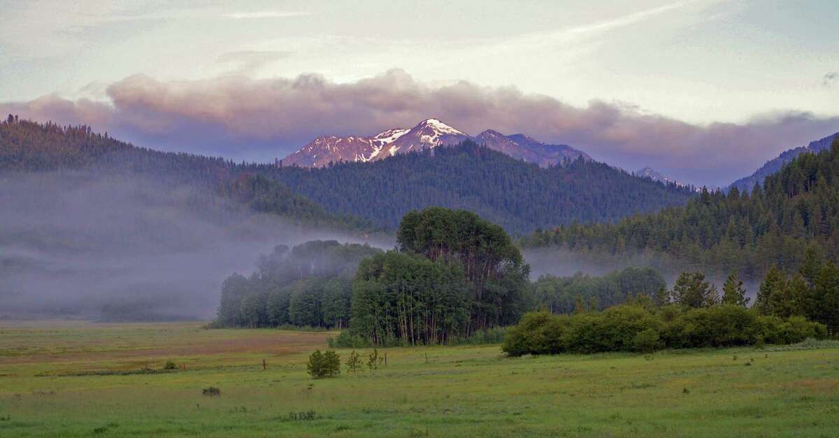 The property includes views like this, of the Camas Meadow Nature Preserve.