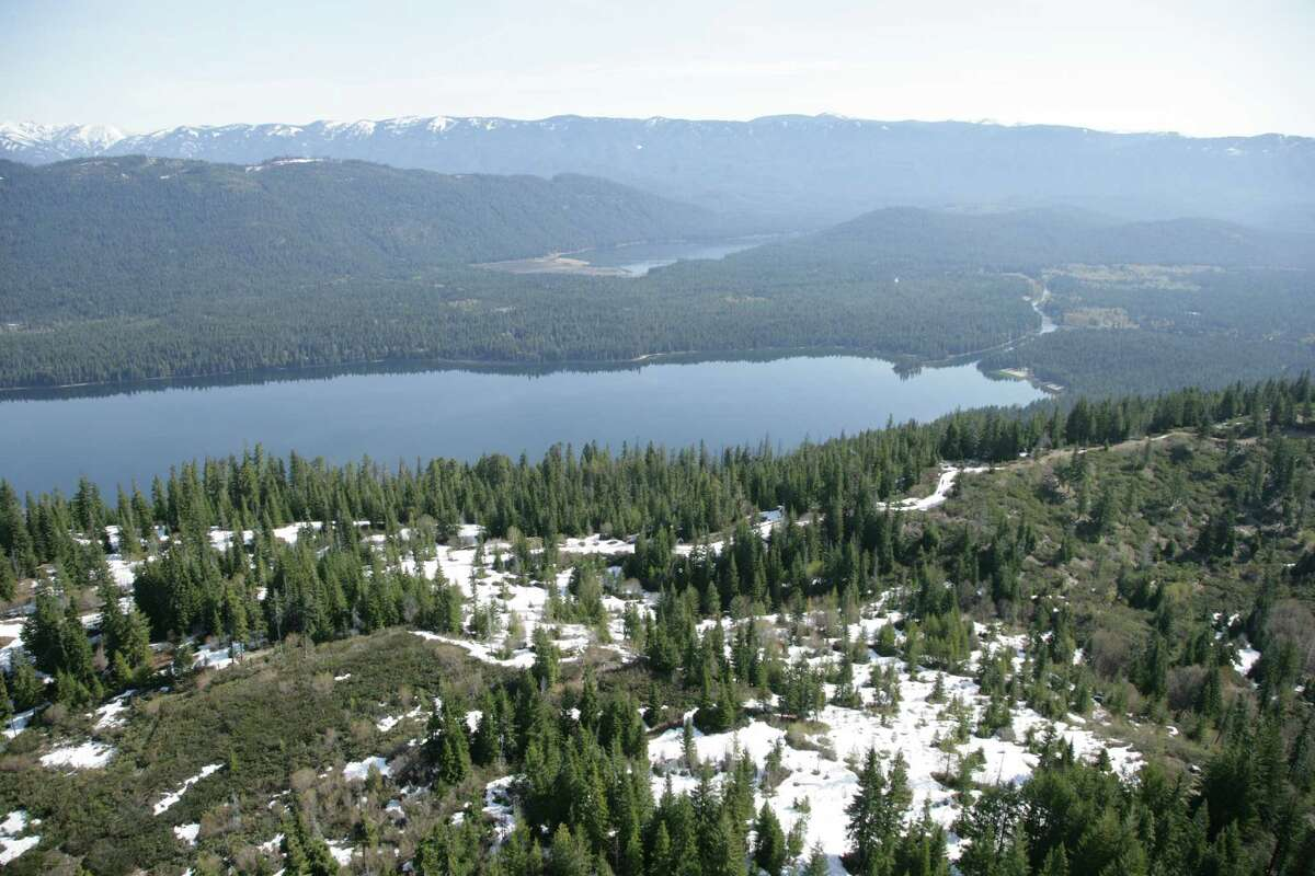 The property is near Lake Wenatchee.