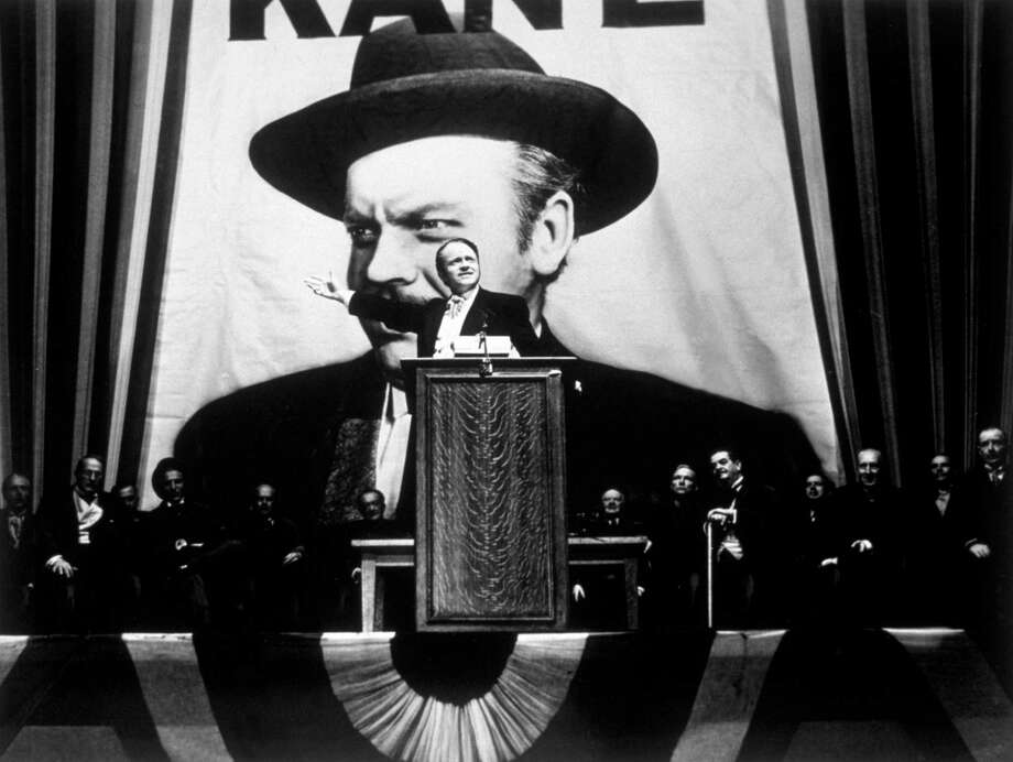 1941:  Orson Welles takes the lead role in his film 'Citizen Kane', directed by himself for RKO. Photo: Hulton Archive, Getty Images / Hulton Archive