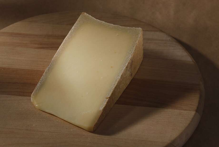 Spring Brook Tarentaise has a thin, dry, natural rind and a semifirm to firm interior with no eyes. Photo: Craig Lee, Special To The Chronicle