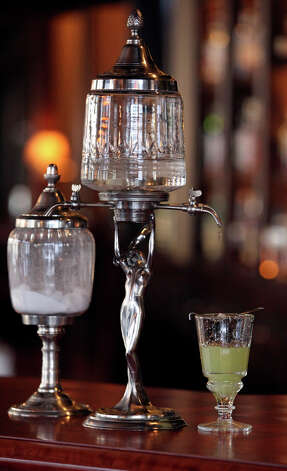 FOOD  The beverage called pernod absinthe is prepared at Bohanan's on February 25, 2010.   Tom Reel/Staff Photo: TOM REEL, SAN ANTONIO EXPRESS-NEWS / © 2010 San Antonio Express-News