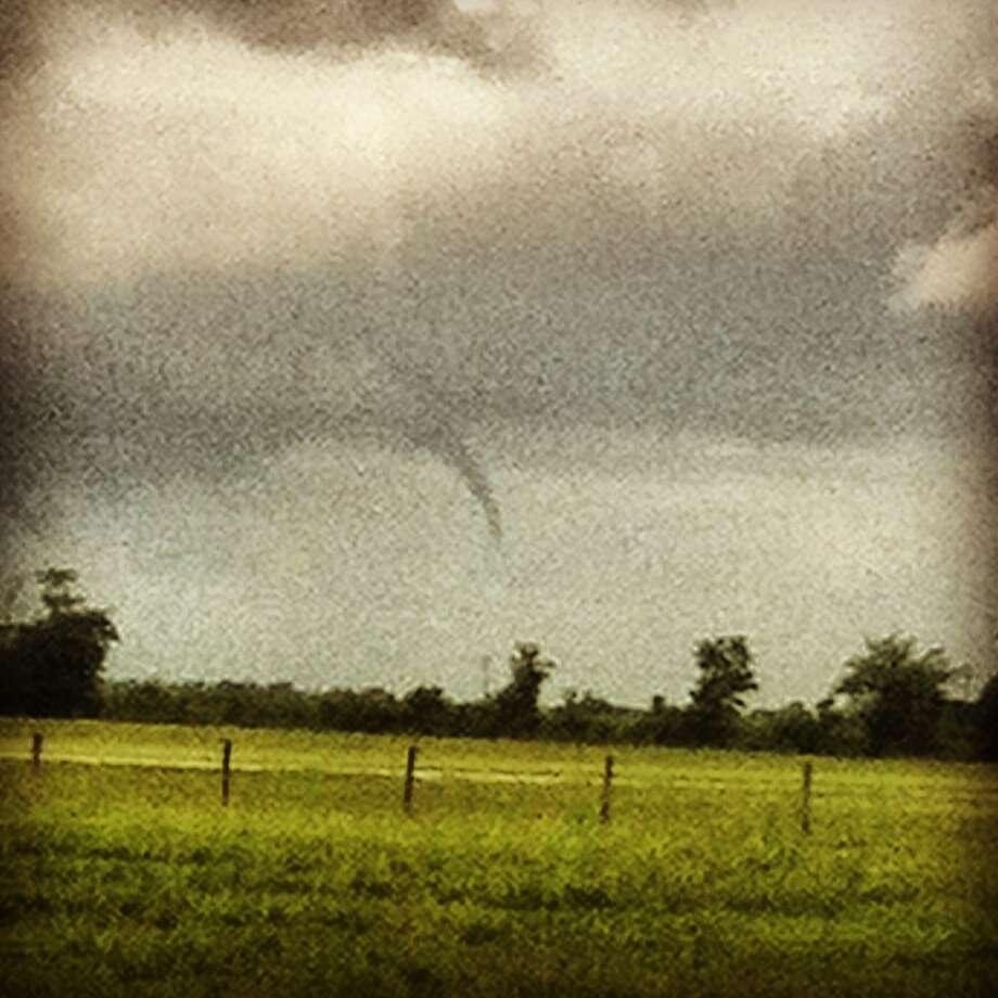 Photo taken by Johnny Ray Lively while at work at KNSL Ranch on Brooks Road in Beaumont.