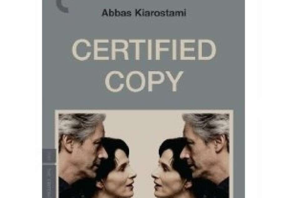 dvd cover CERTIFIED COPY Photo: Criterion Collection, Amazon.com