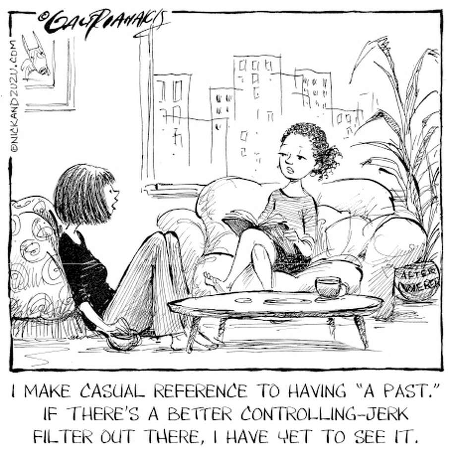 Cartoon with Carolyn Hax