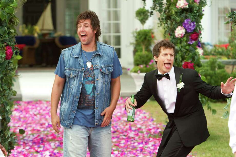 Tracy Bennett/Columbia Pictures Donny Berger (Adam Sandler) and Todd Peterson (Andy Samberg) in Columbia Pictures' comedy THAT'S MY BOY. Photo: Tracy Bennett