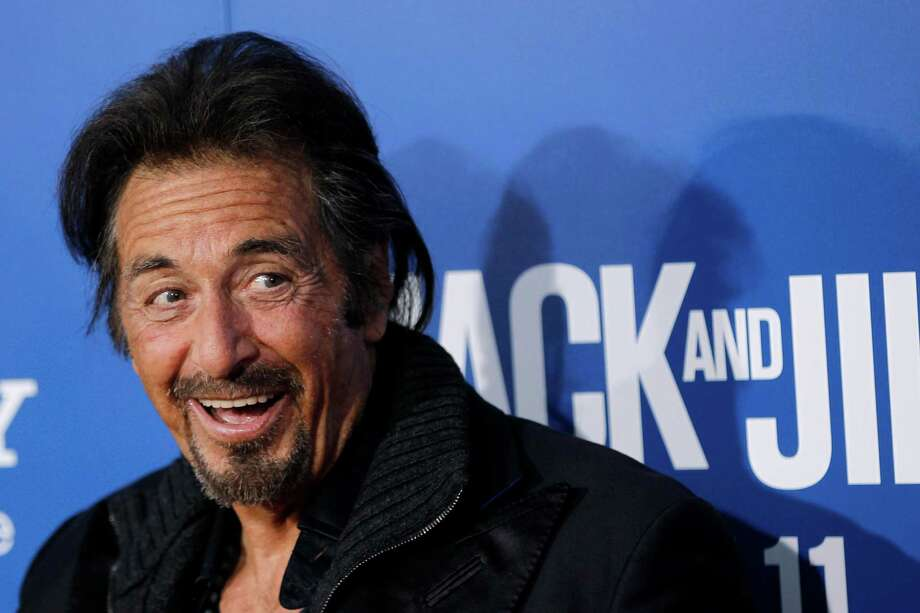 "In this Sun., Nov. 11, 2011 file photo, cast member Al Pacino arrives at the premiere of ""Jack and Jill"", in Los Angeles. Pacino returns to Broadway to star in David Mamet's drama ""Glengarry Glen Ross,"" which opens officially on Sunday, November 11, 2012, at the Gerald Schoenfeld Theatre in New York. (AP Photo/Matt Sayles, File) Photo: Matt Sayles"