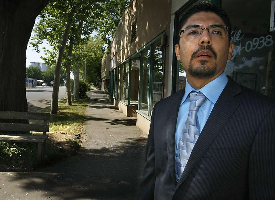 Sergio Garcia was born in Mexico and smuggled into the United States by his parents as an infant. After working his way through college and law school he has passed the bar, and on Jan. 2, 2014, the state Supreme Court said he could practice as a lawyer. He is shown in Durham, California, on May 27 , 2012. (Don Bartletti/Los Angeles Times/MCT) Photo: Don Bartletti, McClatchy-Tribune News Service