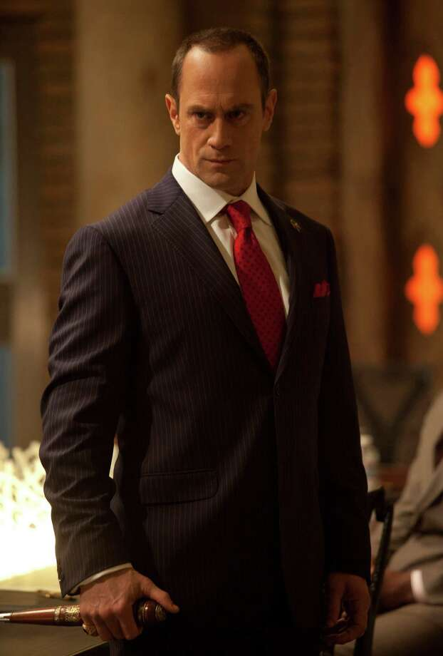 """As Guardian of The Authority, Roman (Christopher Meloni) is """"fighting against what he sees as fanatics,"""" Meloni says of his """"True Blood"""" character. Photo: John P. Johnson / MCT"""