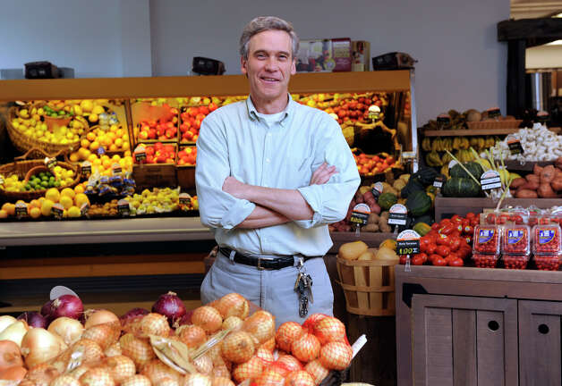 John Pittari, 56, of Bethlehem, is the owner of New Morning, a natural health food store in Woodbury, Ct. Photo: Carol Kaliff / The News-Times