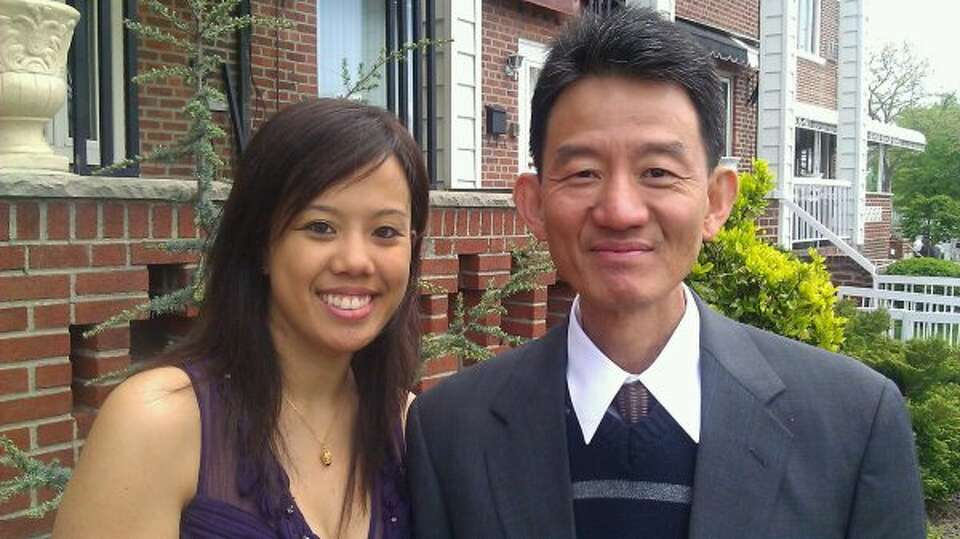 A 2011 photo of Cindy Chiu and her father, Wah Chiu.  Cindy, 28, of Houston: At the age of six my da