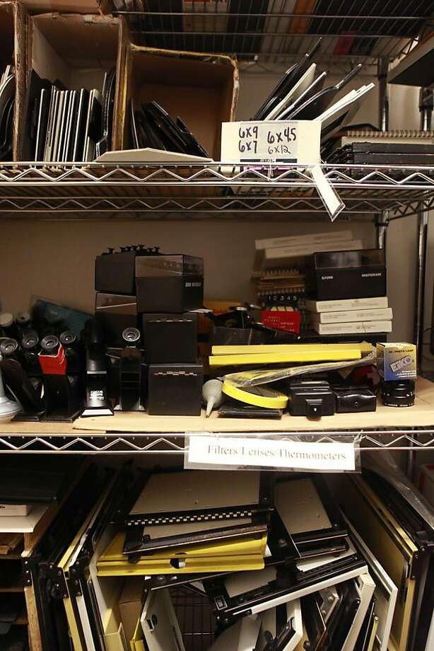 Rental equipment at the Harvey Milk Photo Center, which is one of the oldest public darkrooms in the country, on Thursday, June 7th, 2012 in San Francisco, Calif. Photo: Jill Schneider, The Chronicle