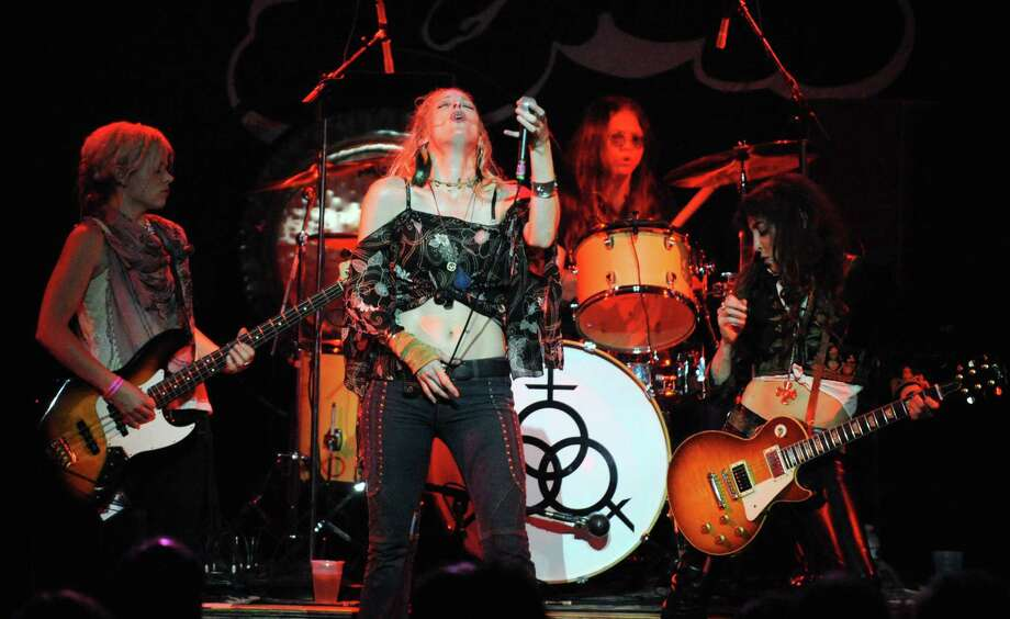 Friday: All-female hard-rock tribute band Lez Zeppelin plays StageOne at the Fairfield Theatre Company. Doors open at 7 p.m. Photo: Contributed Photo / Connecticut Post Contributed