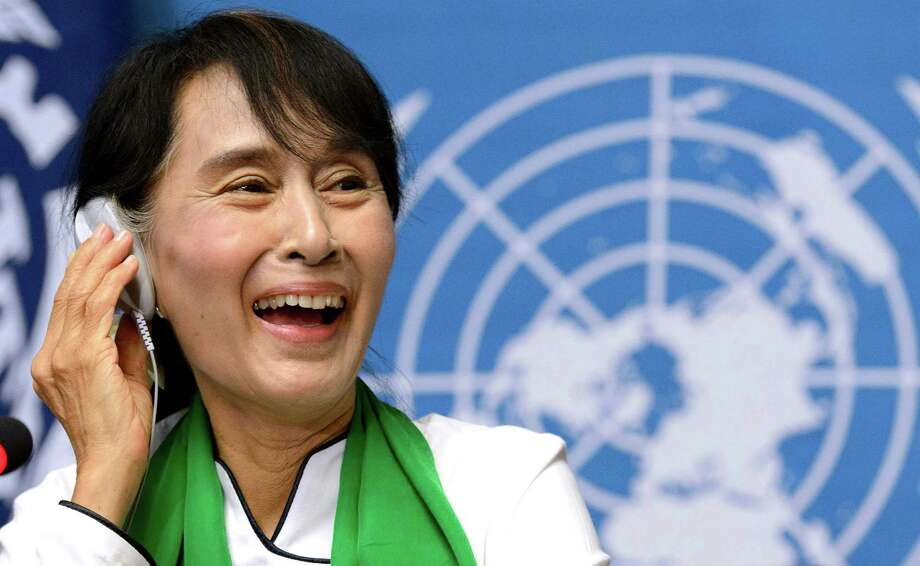 19. Myanmar opposition leader Aung San Suu Kyi Photo: Laurent Gillieron, Associated Press / KEYSTONE