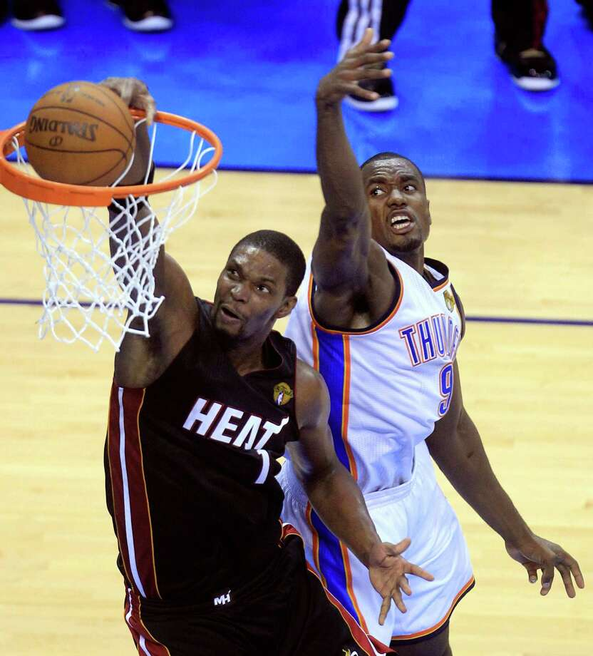 """Best - 4. Chris Bosh, Georgia Tech:The """"third wheel"""" in the Heat's """"Big Three"""" led the Atlantic Coast in FG percentage in his season with the Yellow Jackets in 2003 before becoming an eight-time NBA All-Star.  Photo: AP"""
