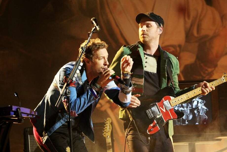 Coldplay is nominated for Best Rock Video. Sorry Chris, but after your wife created GOOP, all of your rock cred went out the window.  (File photo) (Dave Hogan / Getty Images)