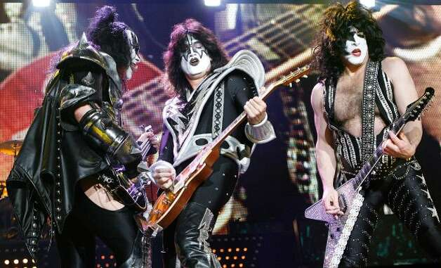 The Kiss and Motley Crue 2012 Mega Tour will be at the AT&T Center on Aug. 5. Ticket prices range from $40.50-$150.50 at TicketMaster and $72-$444 at StubHub. (File photo) (Jo Hale / Getty Images)