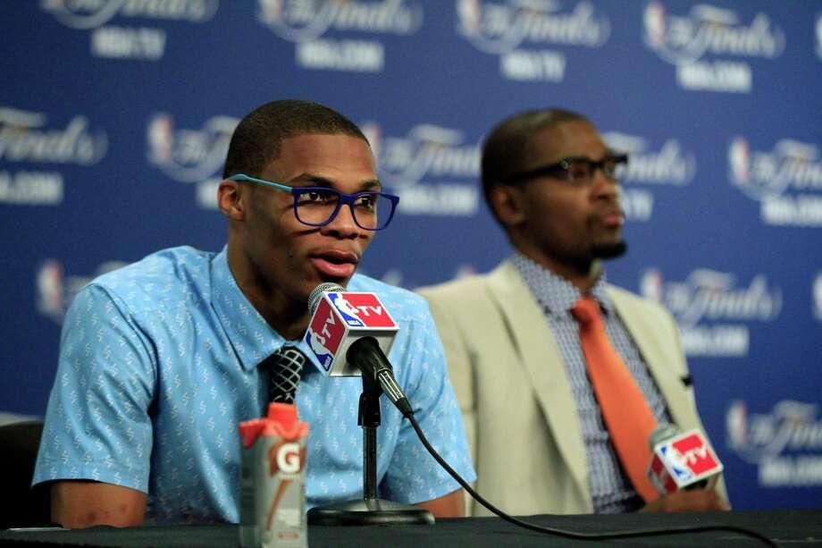 Oklahoma City Thunder point guard Russell Westbrook Photo: Sue Ogrocki, Associated Press / AP