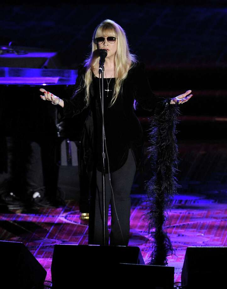 Singer Stevie Nicks performs at the 2012 Songwriters Hall of Fame induction and awards gala at the Marriott Marquis Hotel, Thursday June 14, 2012 in New York. (Photo by Evan Agostini/Invision) Photo: Evan Agostini, EVAN AGOSTINI/INVISION/AP / 2012 Invision